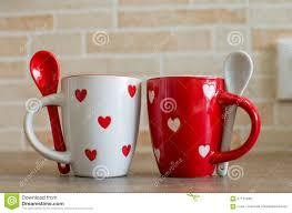 coffee cups with coffee love. Beautiful Coffee Coffee Cups Love Set And Cups With Love Dreamstimecom