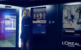 Vending Machine Job Custom Look Good On The Go L'Oreal's Makeup Vending Machine
