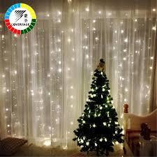 Christmas Net Lights Coversage 3x3m Christmas Garlands Led String Christmas Net Lights Fairy Xmas Party Garden Wedding Decoration Curtain Lights