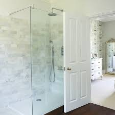 Pale Tiled En Suite Shower Room Shower Rooms Rachael Smith