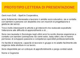 Lettera Di Presentazione Il Curriculum La Lettera Di Presentazione Il Colloquio