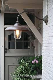 home interior scarce gooseneck outdoor light bronze barn with 12 scoop shade bl armq bz