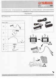 genuine yamaha motorcycle heated grips 22mm intelligent Trailer Wiring Diagram at Kawasaki Heated Grips Wireing Diagram