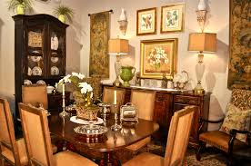 Enjoy A Meal A La French Country Clark Antiques Gallery  Clark - French country dining room set