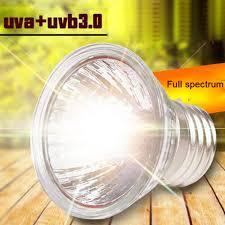 Uvb And Basking Light Us 1 27 33 Off 25 50 75w Uva Uvb 3 0 Reptile Lamp Bulb Turtle Basking Uv Light Bulbs Heating Lamp Amphibians Lizards Temperature Controller In