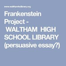 best hs english frankenstein images  frankenstein essay gcse english marked by teacherscom