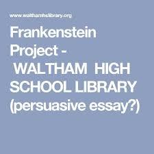best hs english frankenstein images  frankenstein essay gcse english marked by teacherscom