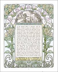 outstanding exles of art nouveau book design include