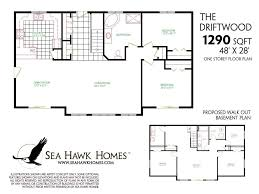 ranch house plans with basement. Ranch House Plans Walkout Basement Full Size With O