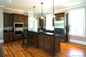 dark wood floor kitchen walnut amazing cabinets with light hardwood floors full size