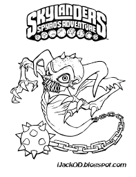 Small Picture Download Coloring Pages Skylanders Coloring Pages Skylanders