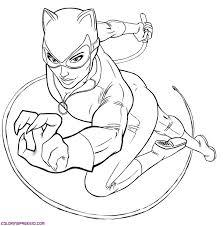 Catwoman 5 Super H Ros Coloriages Imprimer Dessin De Catwoman Imprimer Coloriage De Catwoman L