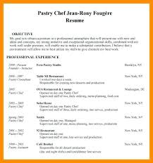 Cook Resume Objective Chef Resume Example Sushi Chef Resume Resume Template Cook Resume 28