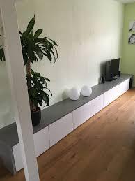 Ikea Besta Kast Met Betonlook Plaat Interieur In 2019 Opberg