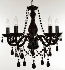 black crystals for chandeliers chandelier designs