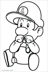 Mario Coloring Pages Wwwallanlichtmancom