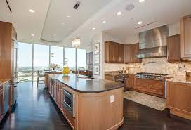 53 High End Contemporary Kitchen Designs With Natural Wood Cabinets Designing Idea