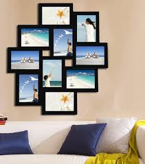 charming inspiration photo collage wall 10 opening wood hanging picture frame reviews wallpaper art 21