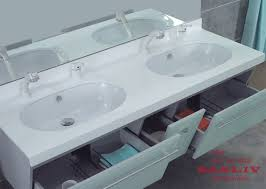 double sink vanity for small bathroom. small double sink bathroom vanity design picture for