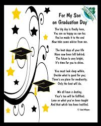 Graduation Quotes For Son Custom Son Graduation Day Quotes