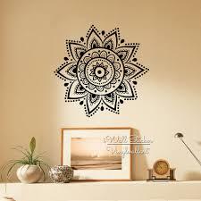 bold ideas indian wall art room decorating mandala sticker modern yoga decal diy decors removable easy