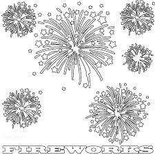 Small Picture Coloring Pages Firework Coloring Page Pages Of Fireworks