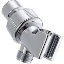 adjule shower arm mount for hand shower in chrome