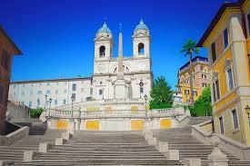 Spanische treppe befindet sich in rione iv campo marzio. Die Spanische Treppe In Rom Piazza Di Spagna