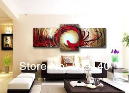 modern office wall art free abstract phoenix oil painting canvas high quality handmade modern home