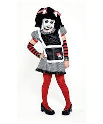 gothic rag doll s costume