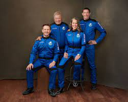 Captain Kirk' heading to space on Blue ...