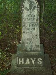 George Wallace Hays (1875-1910) - Find A Grave Memorial