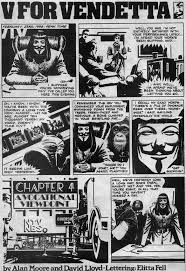 the original v for vendetta speech graphic novel page  the original v for vendetta speech graphic novel
