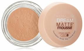 Maybelline Dream Matte Mousse Creamy Natural Light 5 Maybelline Dream Matte Mousse Foundation Creamy Natural Light 5