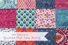 Quilting for Beginners - Sew Delicious & Quilted Mat Sew Along ... Adamdwight.com