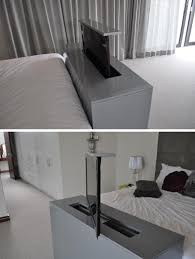 Bed With Tv Built In 7 Ideas For Hiding A Tv In A Bedroom Contemporist