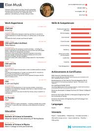 Elon Musk S Resume Is Out And It Is Giving Everyone Serious Resume