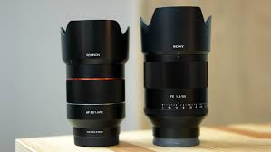 sony 50mm 1 4. rokinon af 50mm f/1.4 vs sony planar f1.4 - comparison review youtube 1 4
