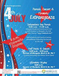 Margate 4th Of July Flyer Food Trucks Fort Lauderdale
