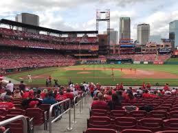 Busch Stadium Section 144 Home Of St Louis Cardinals