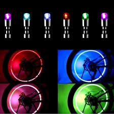 <b>1Pair New</b> Fashional LED Valve Stem Light Bulb <b>Bike</b> Bicycle Car ...