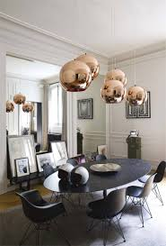 Copper Dining Table Lights Statement Making Dining Room Lighting Rouse Home