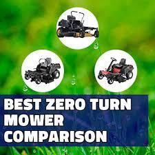 Best Zero Turn Mower Reviews 2019 Comparison Chart Winners