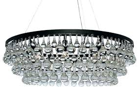 chandeliers crystal drop chandelier drops for chandeliers antique black 5 light chic contemporary glass intended