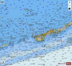Florida Depth Chart 2009 Miami To Marathon And Florida Bay Page G Left Side Marine