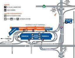 airport parking map  johnwayneairportparkingmap