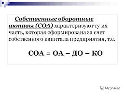 Презентация на тему Тема Управление оборотными активами План  24 Собственные оборотные