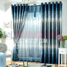 White And Blue Curtains Navy For Bedroom Photo 5 Striped Walmart – Chann