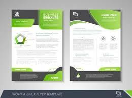Green Brochure Template Modern Green Brochure Design Brochure Template Brochures Brochure