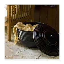 garden hose pot hose pot holder keeps hoses tidy bowl crescent for garden with lid ideas garden hose